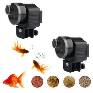 New 2019 Style Adjustable Automatic Auto Fish Food Feeder Aquarium Feeding