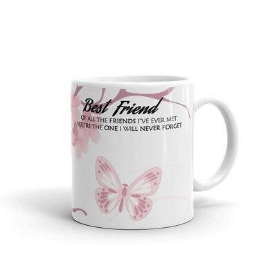 Best Friend The Friend's I Have Met Coffee Tea Ceramic Mug Office Work Cup (The Best Coffee Cup)