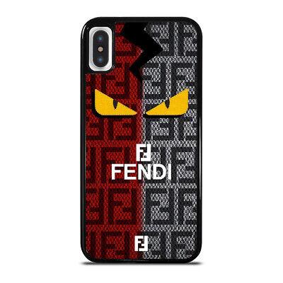 FENDI ROMA EYES LOGO iPhone 6 6S 7 8 Plus X XS Case