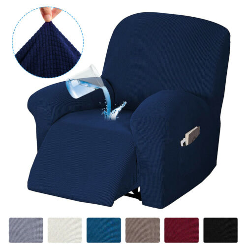 Waterproof Stretch Recliner Chair Slipcover Cover Protector