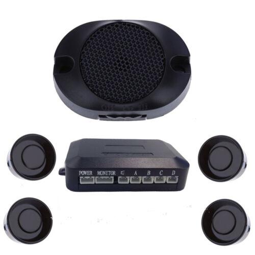 4 Parking Sensors LED Car Auto Backup Reverse Rear Radar System Alert Alarm Kit
