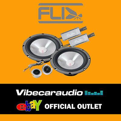 """Fli Integrator Comp 6 6.5"""" 16.5cm 255 Watts 2 Way Car Door Components Speakers"""