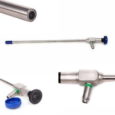 0 10x320mm Endoscope 10mm Laparoscopy Connector Fit Storz Stryker Optic Fiber
