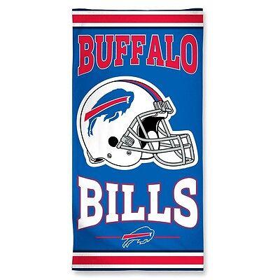 Buffalo Bills Beach Towel [NEW] NFL Blanket Vacation Summer Pool CDG