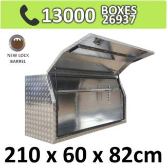 Aluminium Side Full Opening Toolbox Truck Ute Trailer Box 2068FD