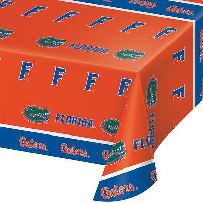 2-ct University of Florida Premium Gators Plastic Table Covers College Party