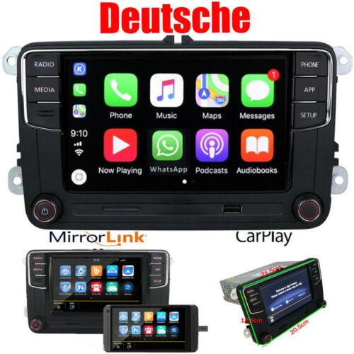Deutsch Autoradio RCD330 CarPlay RVC USB BT Für VW GOLF 5 6 Passat Caddy PoloEOS