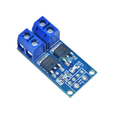 10pcs Dual Mos Fet Trigger Switch Drive Module Pwm Regulator Control Panel 15a