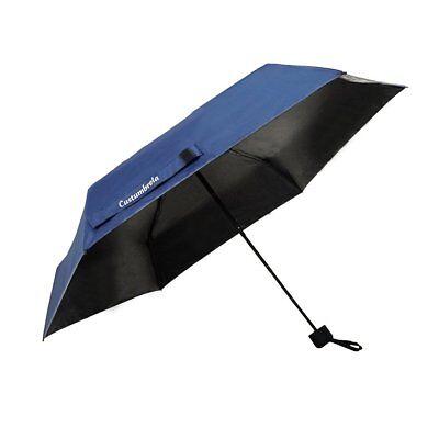en Regenschirm Licht kompakte Sonnenschirm UV-Schutz Blau (Reise-sonnenschirm)