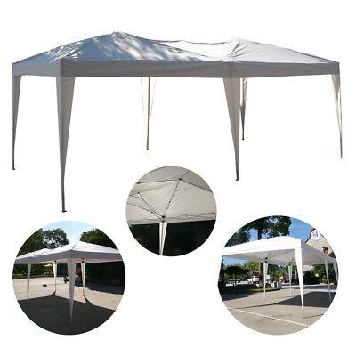 (10'X 20' POP UP Wedding Party Tent Foldable Gazebo Beach Canopy W/Bag)