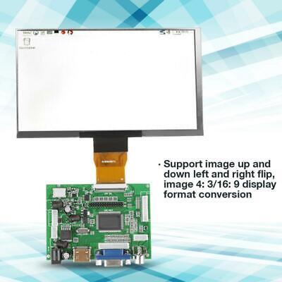 1024600 For Raspberry Pie Ips Lcd Driver Board Hd Monitor Vga Hdmi 12v 7 Inch