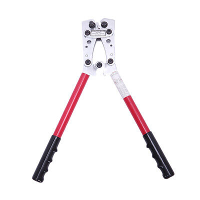 6-50mm Hydraulic Wire Battery Cable Lug Terminal Crimper Plier Crimping Tool Us