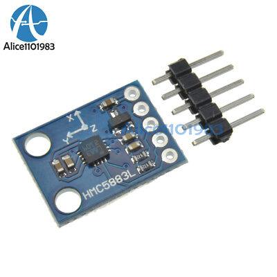 5pcs Hmc5883l Triple Axis Compass Magnetometer Sensor Module For Arduino 3v-5v