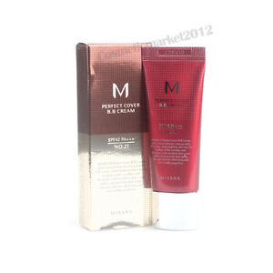 MISSHA M Perfect Cover BB Cream #21 SPF42/PA+++ 20ml Free gifts