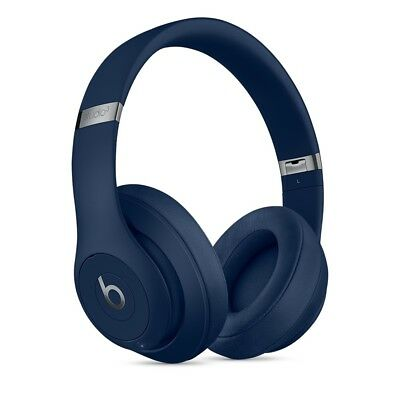 BRAND NEW Beats by Dre Studio 3 2018 WIRELESS BLUETOOTH HEADPHONES BLUE