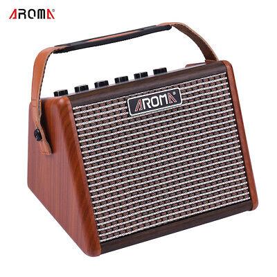 AROMA AG-15A 15W Portable Acoustic Guitar Amplifier Amp BT Speaker Parts
