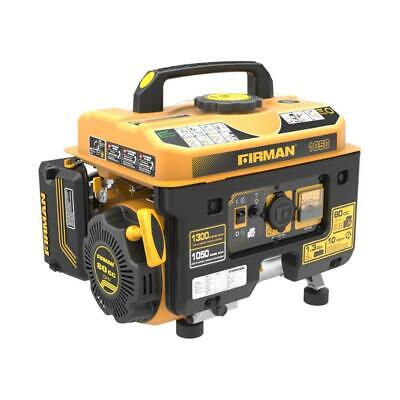 Firman P01001 Performance Series Portable Generator, 1050 Running Watts