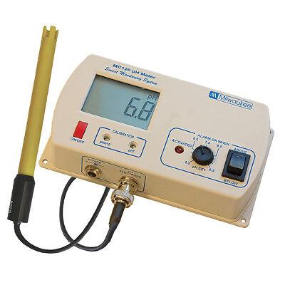 Milwaukee Instruments Professional Ph Level Monitor Aquarium Water Tester Mc120