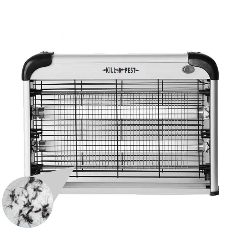 Indoor Bug Zapper Electric Insect Fly Pest Bug Mosquito Killer Trap Light Lawn