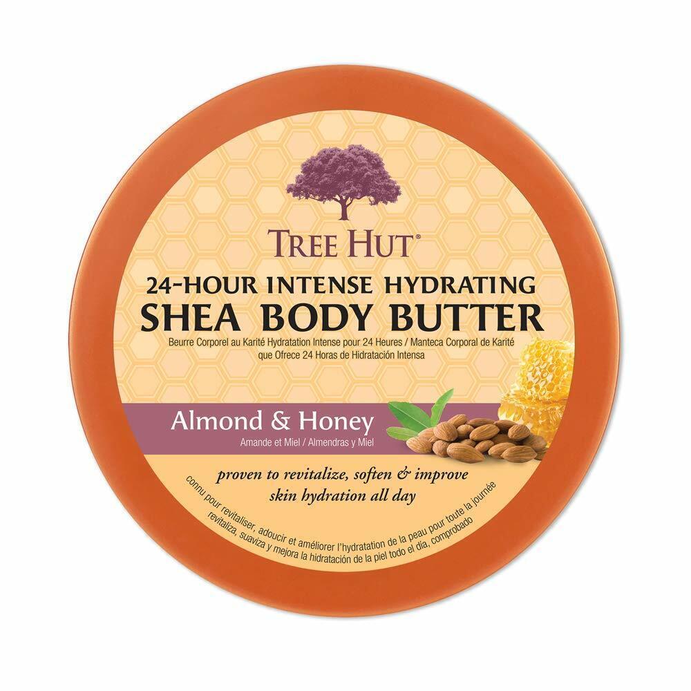 Tree Hut 24 Hour Intense Hydrating Shea Body Butter, 7oz