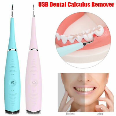 Ultrasonic Dental Scaler Tooth Whitening Tartar Plaque Remover USB Teeth Cleaner Plaque Removal Teeth