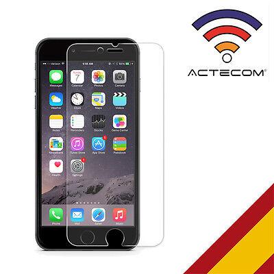 ACTECOM® PROTECTOR PANTALLA CRISTAL TEMPLADO PARA IPHONE 6S PLUS MATE ANTIGLARE