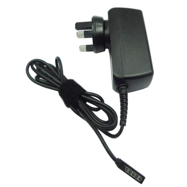 Ac adapter Tablet Charger for Microsoft Surface Pro 2 and Surface RT UK Plug