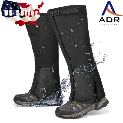 1 pair Snake resistant leg gaiters water proof Durable 70d/600d rip stop nylon.