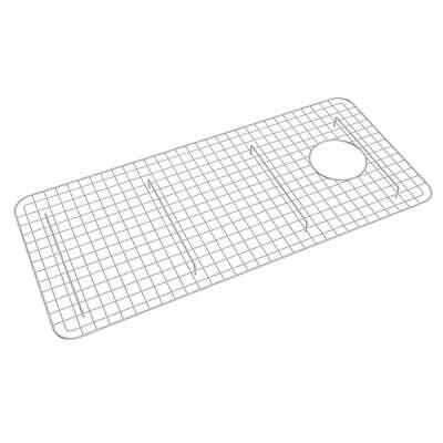 Rohl WSG3618SS Wire Sink Grid for RC3618 Sink, Stainless Steel Finish Rohl Sink Grid