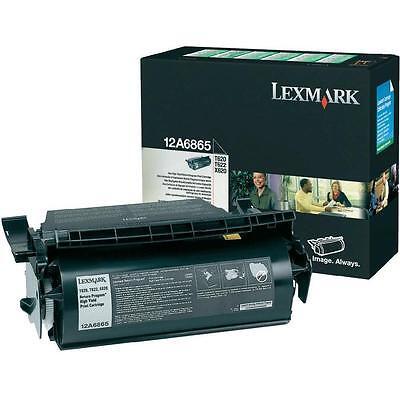LEXMARK 12A6865 T620 T622 X620 High yield Genuine Original TONER CARTRIDGE NEW