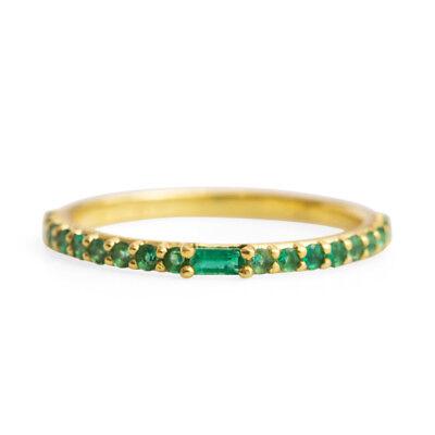 Catbird NYC Manava Emerald Ring
