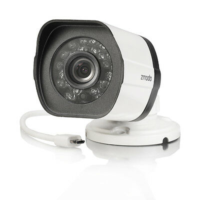 Zmodo 720P sPoE Bullet IP Network IR Night Vision Home Security Camera