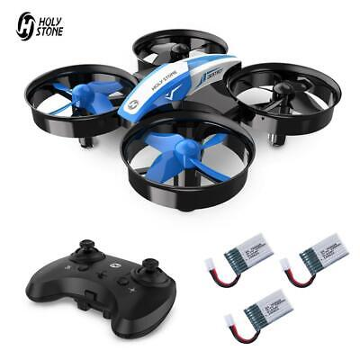 Holy Stone Mini Drone for Kids HS210 RC quadcopter helicopter 3 battery 3D Flip