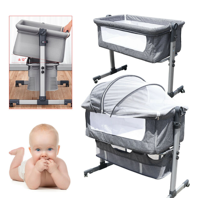 Detachable Baby Bassinet Sleeper Portable Infant Bed Bedside Crib Sleeper USA