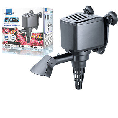 250 PH GPH Powerhead Aquarium Water Pump Circulating Hydroponics 30 40 g