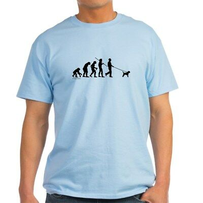- CafePress Border Terrier Evolution Light T Shirt 100% Cotton T-Shirt (299501982)