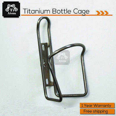 2 x King Titanium ti Bottle Cages 28g FREE SILVER MT ZOOM Shroom bolts