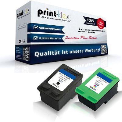 42-drucker (2x Premium Tintenpatronen für HP DeskJet 5740 5745 6520 Tinten Patronen)