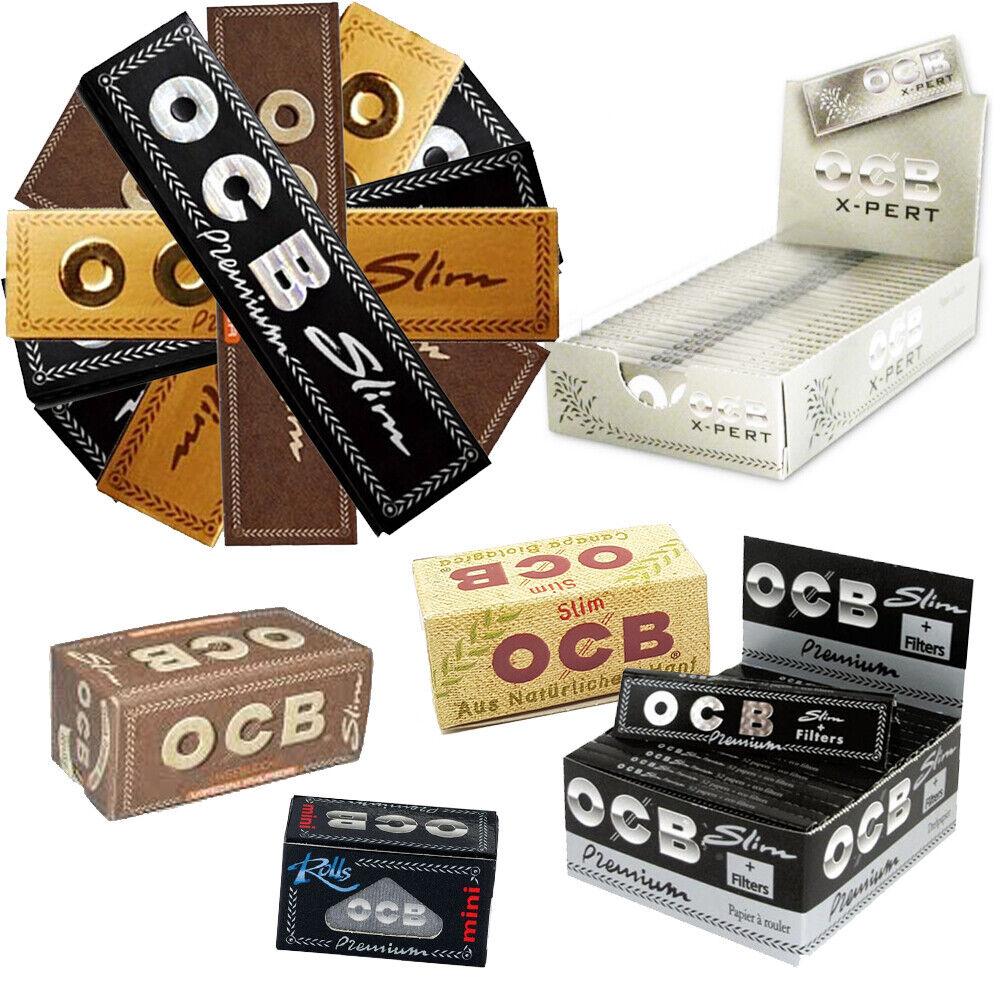 OCB Papers Zigarettenpapier Long Papes Blättchen Booklets viele Geschmäcker