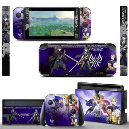 Ci-Yu-Online [NS] Fire Emblem #1 Full Set VINYL SKIN STICKER Nintendo Switch