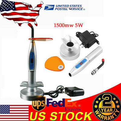 1500mw 5w Dental Wireless Cordless Led Curing Light Lamp For Teeth Carecharger