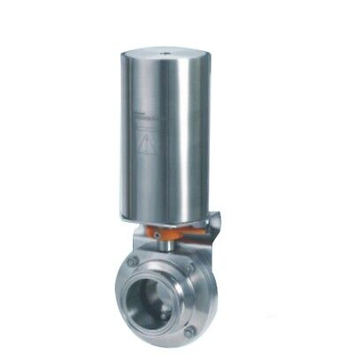 Sanitary Butterfly Valve Pneumatic Actuator Single-acting 4 Od119mm Ss304
