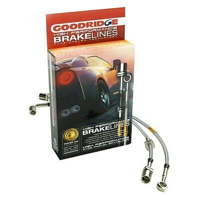 For Nissan Titan 04-10 G-Stop Stainless Steel Front & Rear Brake Line Kit