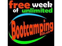 FREE trial WEEK of Bootcamp classes