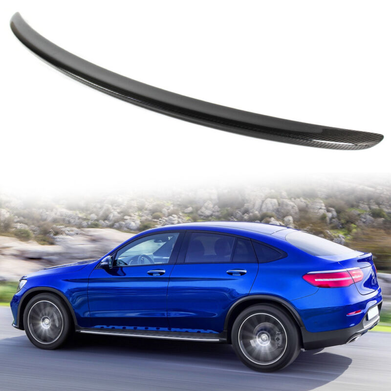 For Mercedes Benz Glc Class Coupe Glc300 Glc250 Spoiler: Carbon Fiber Mercedes BENZ GLC C253 Coupe SUV Trunk