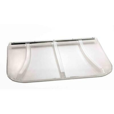 Window Well Cover Universal Fit Polycarbonate Durable Reliable Strength -