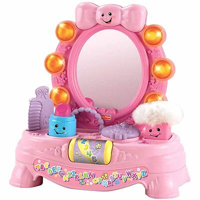 Fisher-Price Laugh 'N' Learn Musical Mirror, Infant Baby Interactive Toy