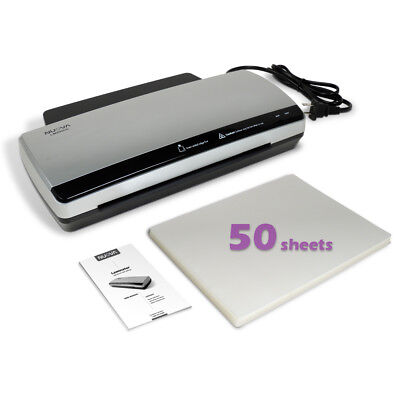 Nuova Lm990hc Hot Cold Laminator Bundle With 50-sheet Letter Size 3mil Pouches