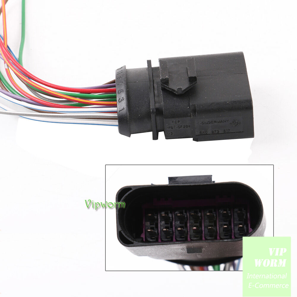 For VW AUDI Skoda Seat New 8 PIN Connector Plug Pigtail 8D0973734
