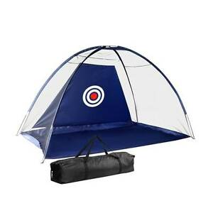 Portable Golf/Soccer/Cricket Training Target Driving Net Navy Silverwater Auburn Area Preview